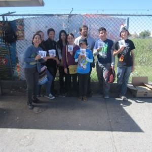 De izquierda a derecha: Verónica Martínez, Luz Martínez, Ramiro Martínez, Ana Peña, Alejandra Arreola, Edgar Rincón, Helena Rincón, Luis Pedro Arreola y Diego Rincón. Foto cortesía.