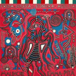 Mujeres mexicanas. Ilustración de Lilia Luján.