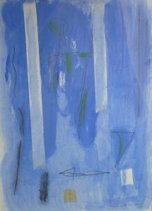 """""""Casamada Paisaje azul"""", de Albert Râfols."""