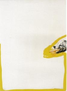 """Homenaje a Goya"" de Rafael Canogar."
