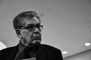 José Emilio Pacheco.  Foto de Óscar Alarcón.