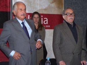 Carlos Fuentes junto a Gabriel García Márquez. Fotografía de Eduardo Estala Rojas.