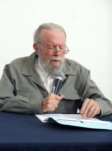 Hugo Gutiérrez Vega. Fotografía de José de Jesús Vázquez Hernández.