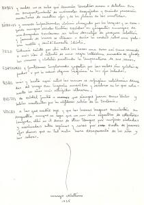 """Manuscrito de """"Nubes y nubes"""", primera versión del poema: """"La poesía enemiga"""", 1935.  Proviene de los cuadernos negros (tipo moleskine) que  utilizaba Efraín Huerta .  Cortesía de Raquel Huerta-Nava."""
