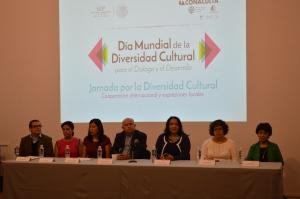 """La Jornada por el """"Día Mundial de la Diversidad Cultural para el Diálogo y el Desarrollo"""", organizado por el Museo Regional de Guanajuato Alhóndiga de Granaditas, México, el 21 de mayo de 2015. Foto: Doris Zendejas / Museo Regional de Guanajuato Alhóndiga de Granaditas, México."""