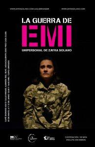 Para más información del evento: https://www.facebook.com/pages/La-guerra-de-Emi/500568216641573?fref=ts