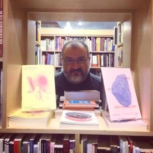 Gerardo Cárdenas, escritor, poeta, traductor y periodista. Foto: Andrea Ojeda.