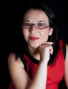 Liliana Pedroza, académica y escritora. Comparte residencia entre México, España y Estados Unidos. Foto: Alicia Arvayo.