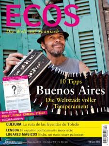 """El MCC en la revista alemana """"ECOS"""": En el artículo destacan nuestra labor internacional en su edición impresa de febrero de 2015. """"ECOS"""" se publica mensualmente en Alemania, Austria y Suiza, con una tirada de 40.000 ejemplares. http://www.ecos-online.de/"""
