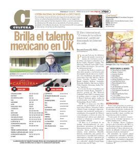 """El MCC en el periódico mexicano """"El Vigía"""". http://www.elvigia.net/cultura/2015/1/16/brilla-talento-mexicano-184635.html"""