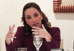 La secretaria de Relaciones Exteriores, Claudia Ruiz Massieu. Foto: Notimex.