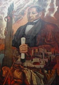 Mural de José Chávez Morado, ubicado en la Presidencia Municipal de Guanajuato, México. Foto: Eduardo Estala Rojas.