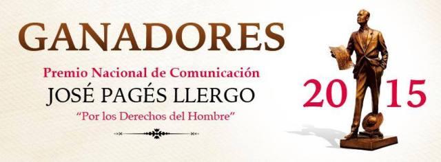 Premio Nacional de Comunicación 2015.