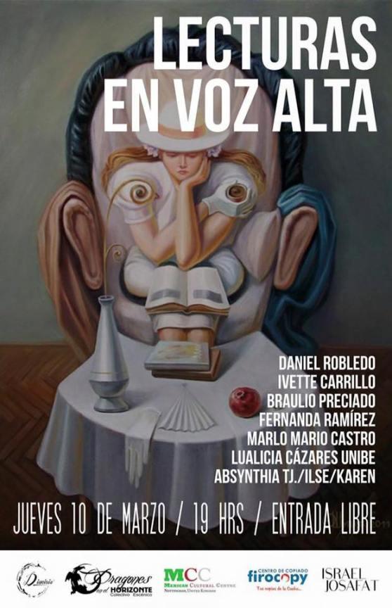 Lectura en Voz Alta. Tijuana, BC, México. 2016-2.