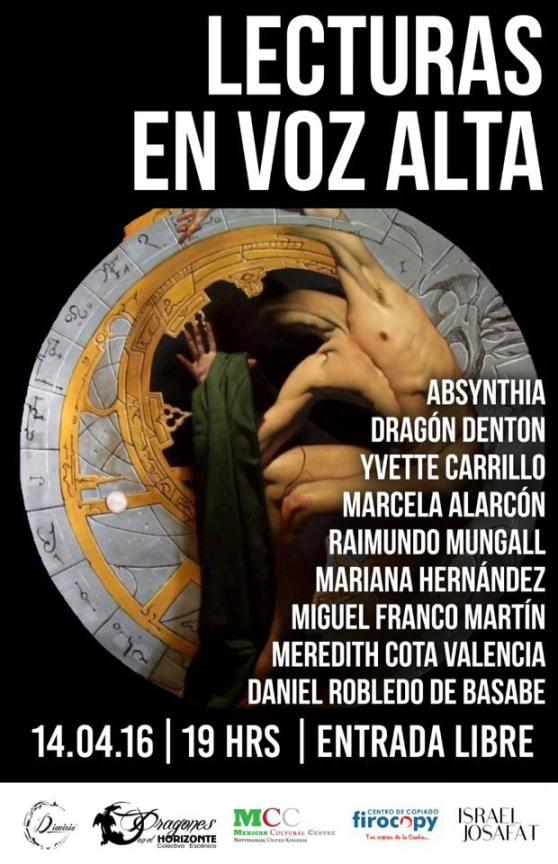 Lecturas en Voz Alta. Tijuana, BC. México. 2016.