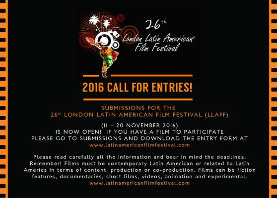 For more information: www.latinamericanfilmfestival.com