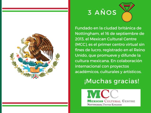 Tercer Aniversario del MCC. 2013-2016.