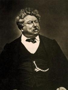 Fotografía de Alexander Dumas c. 1870 (Destaca su tez morena al igual que el de su madre Marie-Césette).