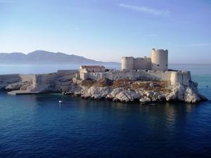 Castillo de If lugar en donde estuvo 14 años preso Dantès.